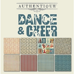 Authentique - All Star Dance & Cheer 6x6 Paper Pad