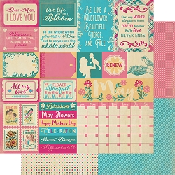 Authentique - Calendar Collection - May Sentiments - 12