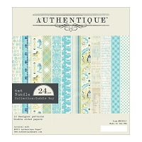 Authentique - Cuddle Boy Collection - 6x6 Paper Pad