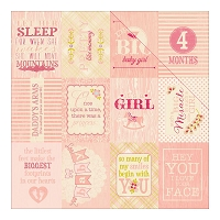 Authentique - Cuddle Girl Collection - 12