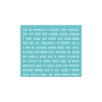 Authentique - Cuddle Boy Collection - Petite Diction sticker