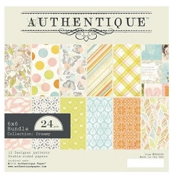 Authentique - Dreamy Collection - 6x6 Paper Pad