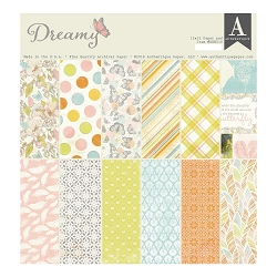 Authentique - Dreamy Collection - 12x12 paper pad