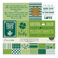 Authentique - Emerald Collection - Collection Kit