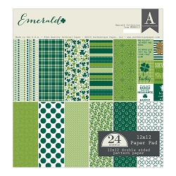 Authentique - Emerald Collection - 12x12 paper pad
