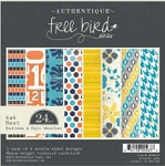 Authentique-6x6 Paper Pad-Freebird-Endless & Fair Weather