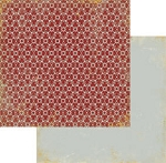 Authentique-Paper-6x6-Freebird-Red/Grey Mosaic