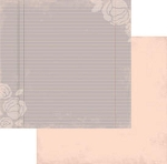 Authentique-Paper-6x6-Freebird-Pink/Grey Ledger