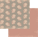 Authentique-Paper-6x6-Freebird-Rose Floral