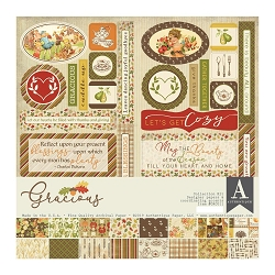 Authentique - Gracious Collection - Collection Kit