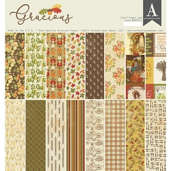 Authentique - Gracious Collection - 12x12 paper pad