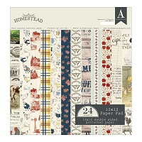 Authentique - Homestead Collection - 12x12 paper pad