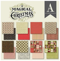 Authentique - A Magical Christmas Collection - 6x6 Paper Pad