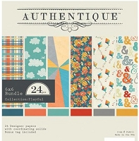 Authentique - Playful Collection - 6x6 Paper Pad