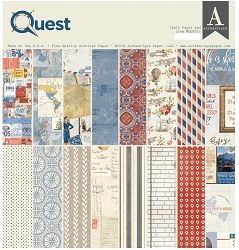 Authentique - Quest Collection - 12x12 paper pad