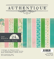 Authentique - Seasons Spring Collection - 6x6 Paper Pad