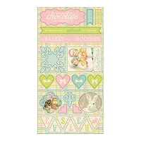 Authentique - Springtime Collection - 6X12 Component Die Cuts