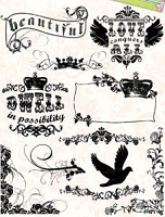 Autumn Leaves - Stampology Clear Stamps Full Sheet - Gypsy Style 2 by Rhonna Farrer
