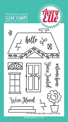 Avery Elle - Clear Stamps - Welcome Home