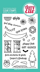 Avery Elle - Clear Stamps - Welcome Home Seasons