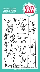 Avery Elle - Clear Stamps - Winter Woodland Wonders