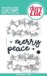 Avery Elle - Clear Stamps - Peaceful Pines