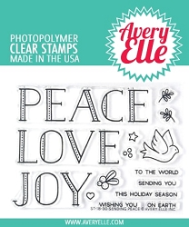 Avery Elle - Clear Stamps - Sending Peace