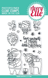 Avery Elle - Clear Stamps - A Merry Little Christmas