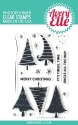 Avery Elle - Clear Stamps - Quirky Christmas