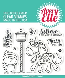 Avery Elle - Clear Stamps - Christmas Magic