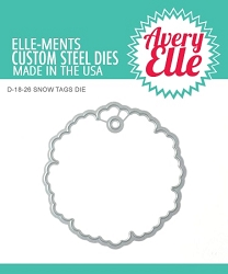 Avery Elle - Elle-ments Dies - Snow Tags