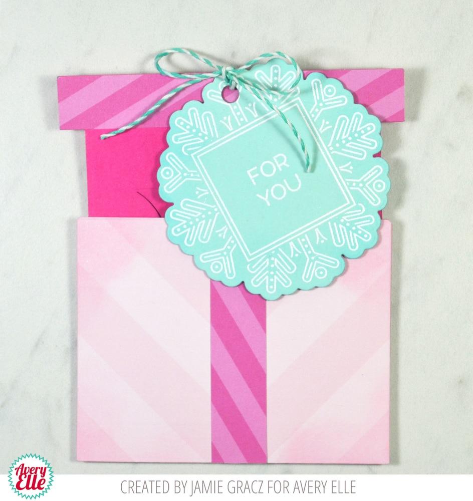 Avery Elle GIFT BOX CARD HOLDER Die Elle-ments D-07-15