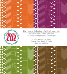 Avery Elle - 6x6 Paper Pad - The Harvest Collection