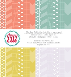 Avery Elle - 6x6 Paper Pad - The Zen Collection