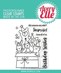 Avery Elle - Clear Stamps - Critter Crew