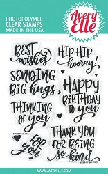 Avery Elle - Clear Stamps - So Kind