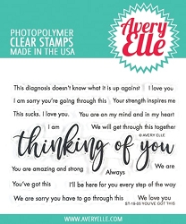 Avery Elle - Clear Stamps - You've Got This