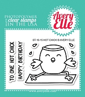 Avery Elle - Clear Stamps - Hot Chick