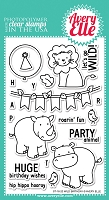 Avery Elle - Clear Stamps - Wild Birthday