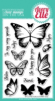 Avery Elle - Clear Stamps - Butterflies