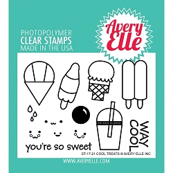 Avery Elle - Clear Stamps - Cool Treats