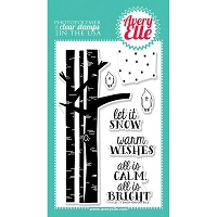 Avery Elle - Clear Stamps - Let it Snow