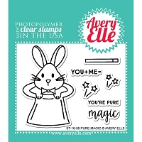 Avery Elle - Clear Stamps - Pure Magic