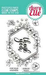 Avery Elle - Clear Stamps - Blooming
