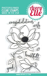 Avery Elle - Clear Stamps - Magnolia