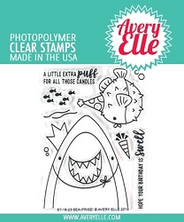 Avery Elle - Clear Stamps - Sea-Prise!