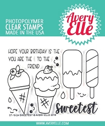 Avery Elle - Clear Stamps - Sweetest
