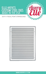 Avery Elle - Elle-ments Dies - Focal Point Stripes