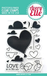 Avery Elle - Clear Stamps - Love is in the Air