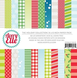 Avery Elle - 6x6 Paper Pad - The Holiday Collection